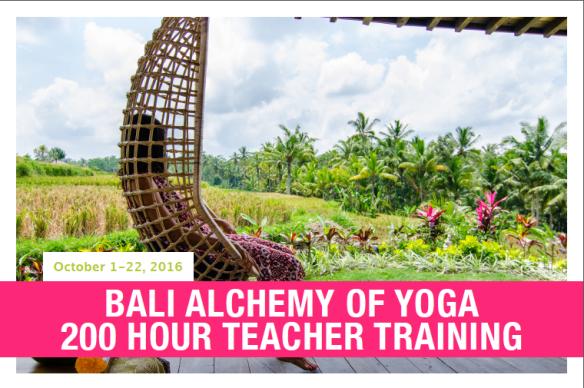Bali front postcard
