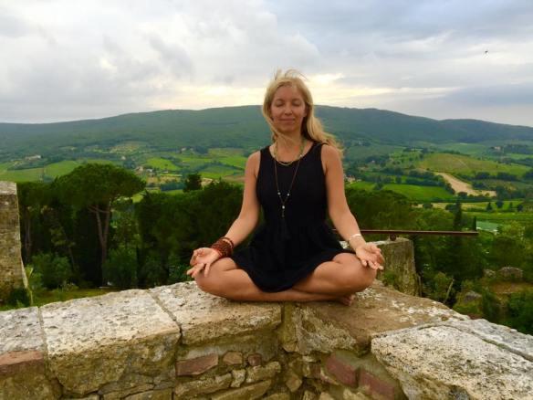silvia meditating